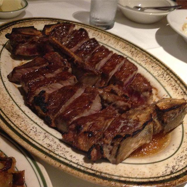 #ラーメンじゃないけど#ステーキ#肉#ポーターハウス#ポーターハウスステーキ#フィレ#サーロイン#ウルフギャング#WolfgangSteakhouse#wolfgang#熟成肉