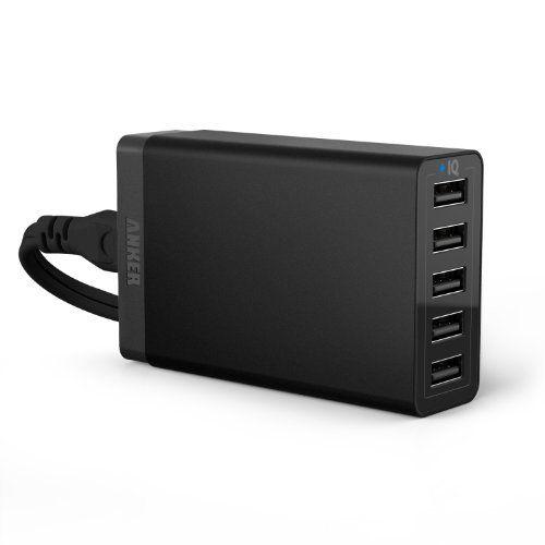Anker® 40W 5V / 8A 5-Port USB Ladegerät mit PowerIQ Technologie und 1.5m Netzkabel für Apple & Android Smartphones, Tablets und andere USB-ladende Geräte (Schwarz) Anker http://www.amazon.de/dp/B00GTGS2I6/ref=cm_sw_r_pi_dp_U5vrvb14HC3QK