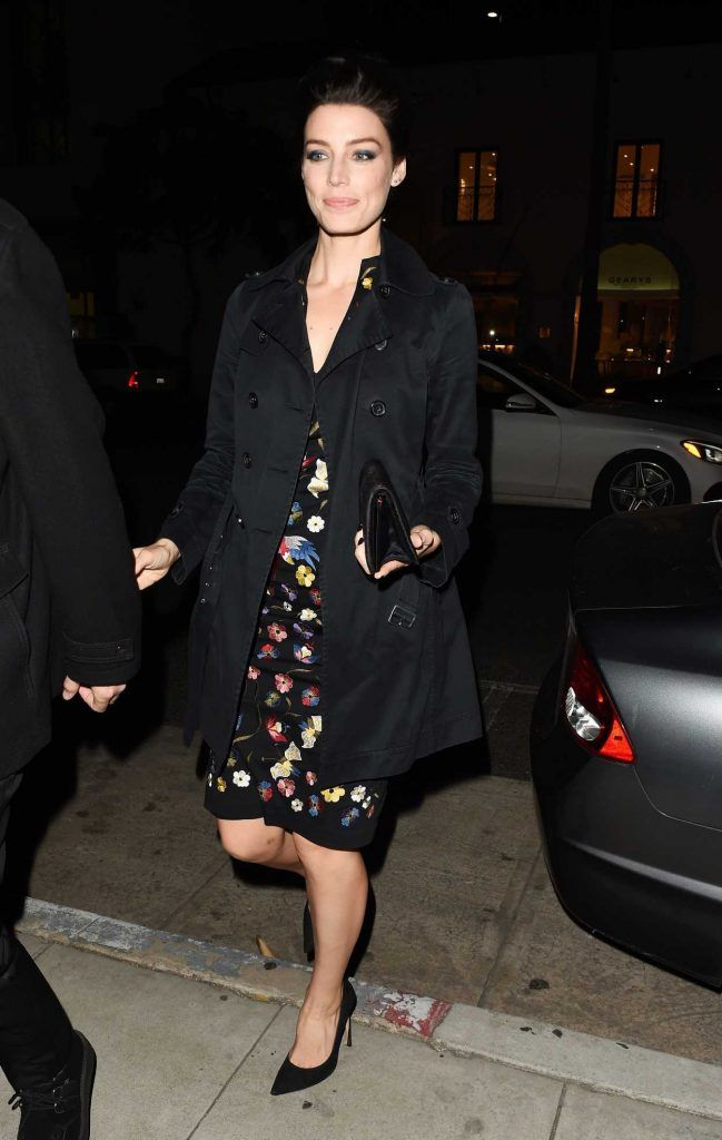 Jessica Pare Leavies the Mad Men Book Party in Beverly Hills 02/23/2017-2