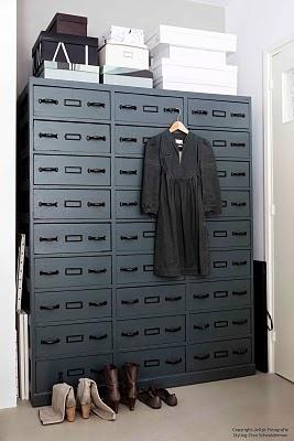 @ an Amsterdam apartment (Sloterkade): Industrial Storage, Bedrooms Storage, Jeltj Fotografie, Closet Drawers, Black Cabinets, Cabinets Storage, Shoes Storage, Closet Ideas, Shoes Closet