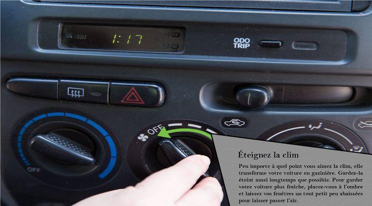 Climatisation et autres accessoires L'utilisation de votre climatisation et d'autres accessoires applique des charges supplémentaires sur votre moteur, ce qui réduit l'économie de carburant. Les utiliser uniquement quand vous en avez besoin vous fera économiser votre carburant et votre argent. En les utilisant uniquement lorsque vous devez absolument économiser sur l'utilisation du carburant. #nokianrotiivaht