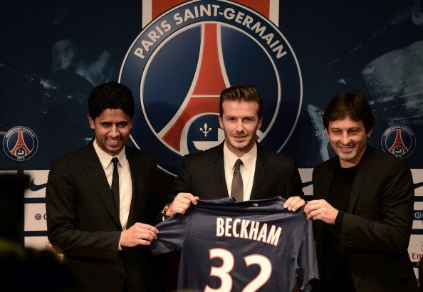Beckham signs for PSG, donating his entire salary to children's charity. Props to him.