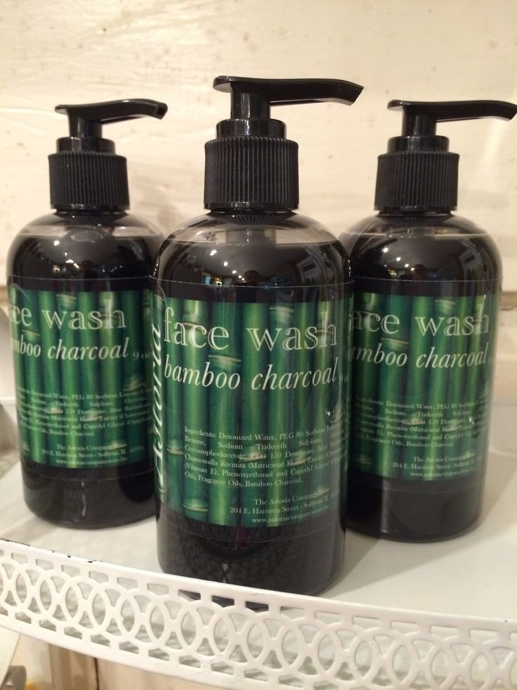 Bamboo Charcoal Face Wash – The Astoria Company Store