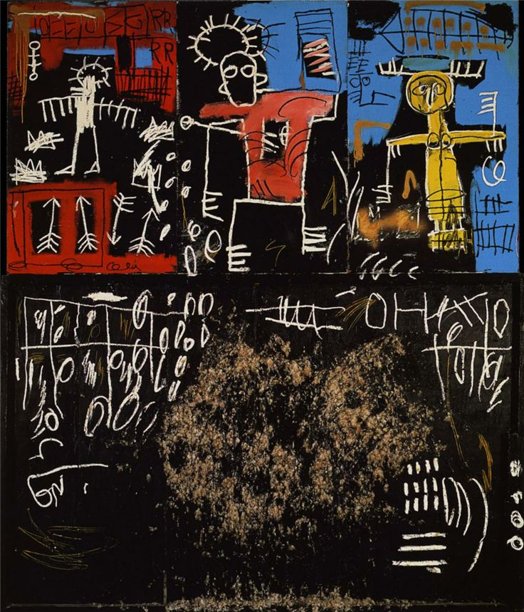 Black Tar and Feathers, 1982 Jean Michel Basquiat