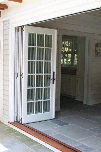 pool house doors