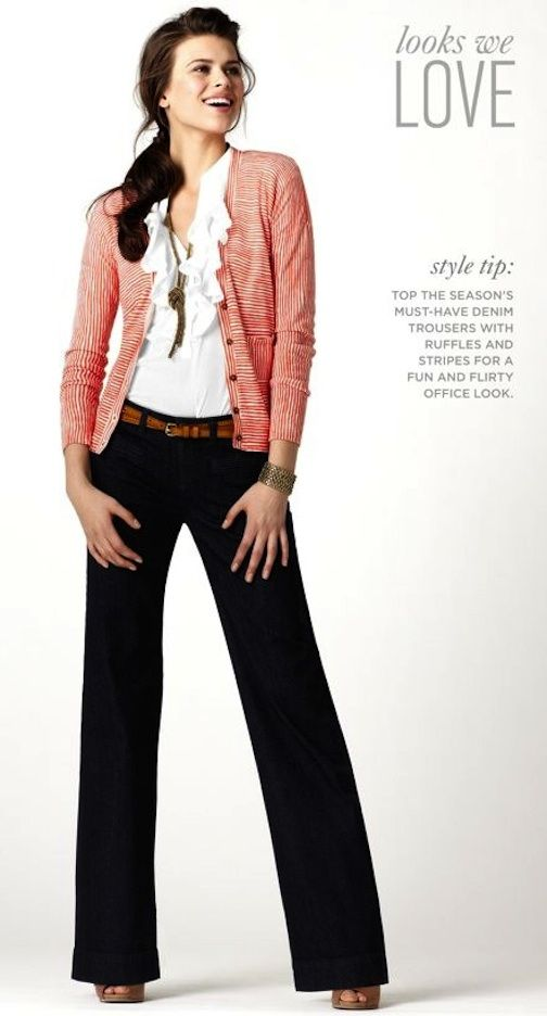 Dear Stitch fix stylist:  I love this look... the dark jeans (LOVE THEM), the cardigan, the detailed shirt. I'd love to duplicate this look!
