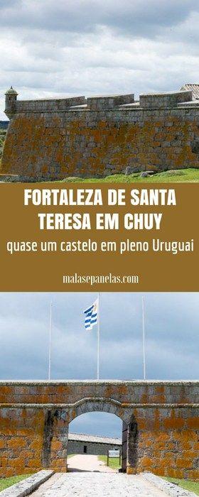 Fortaleza de Santa Teresa em Chuy - quase um castelo em pleno Uruguai   Malas e Panelas