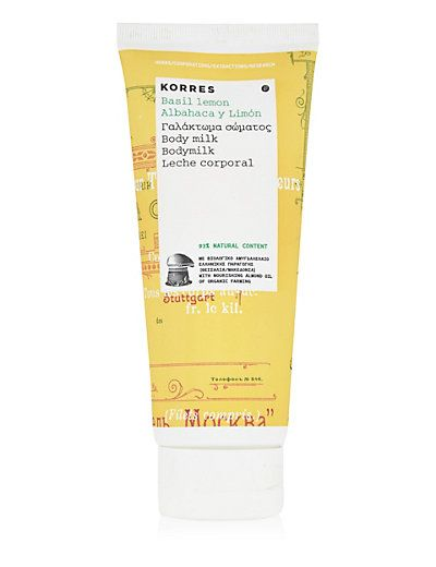 Basil Lemon Body Milk 200ml | M&S