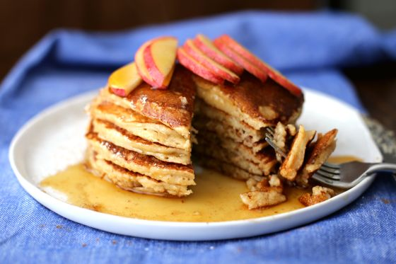 Healthy Applesauce Pancakes With No Sugar Added Recipe - Food.com