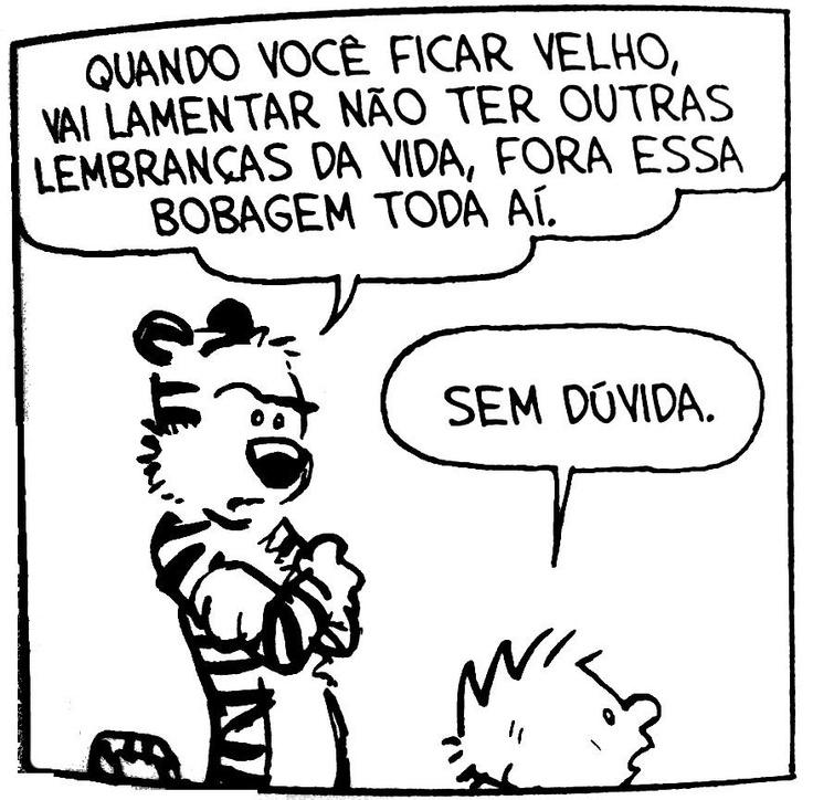 Calvin e Haroldo - Lembranças Memórias