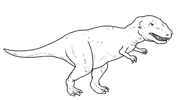 13 best Dinosauri: Disegni da Colorare images on Pinterest