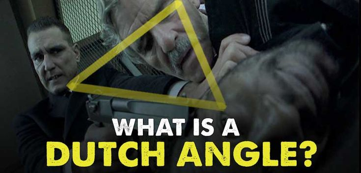 What is a Dutch Angle and its Impact on Emotion  The Dutch Angle or Dutch tilt is a cinematographic technique that has been used for decades to convey a sense of tension or psychological trauma in