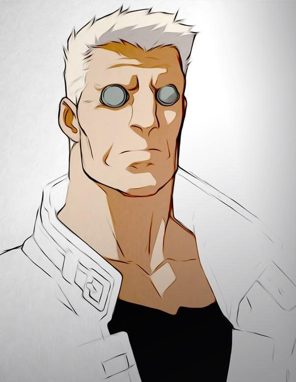 Bill Tench As Batou From Ghost In The Shell Art By Disaintjohn Mindhunter Ghost In The Shell Ghost Shell Art
