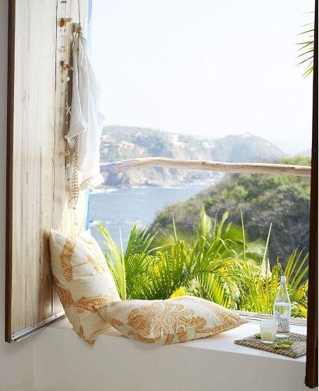 *Bliss...through the window