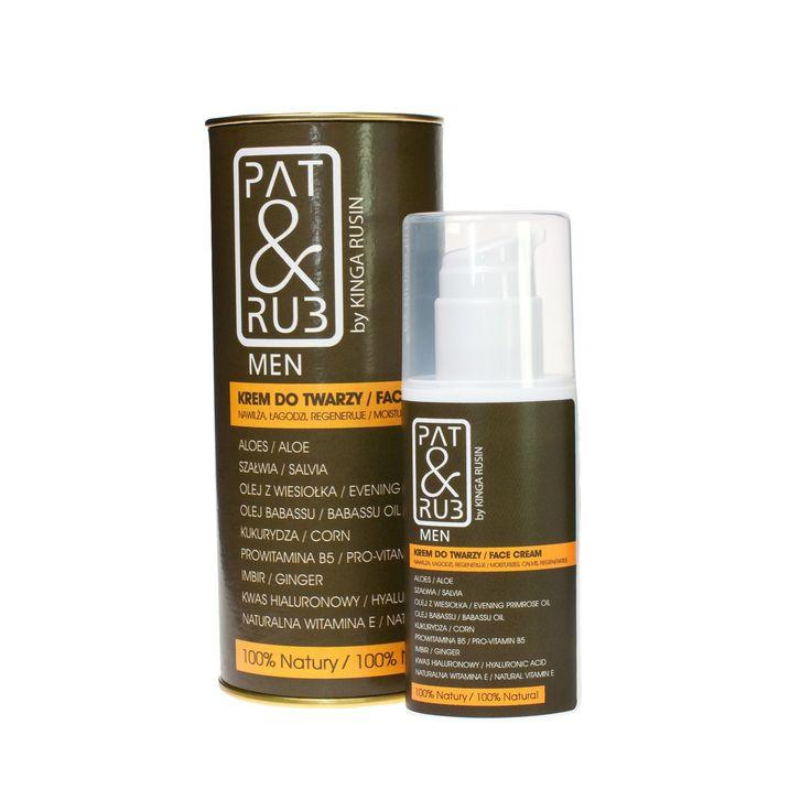 #for_men #men_care #face_cream #cream_men #comforting #protecting #natural_cosmetics #patandrub #patrub #kremy #do_twarzy #dla_mężczyzn #pielęgnacja i #ochrona #anti_aging #bez_podrażnień #kosmetyki #ekologiczne #naturalne #dla_niego