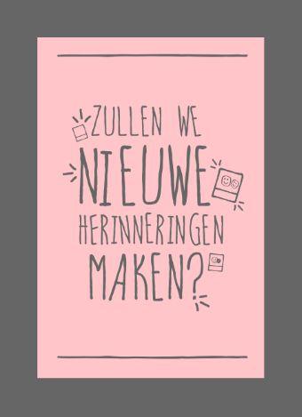 Zullen we nieuwe herinneringen maken? #hallmarkreconnect #weeszuinigopwiejeliefis #hallmark
