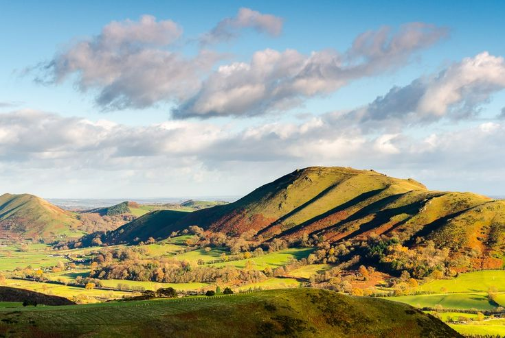 Caer Caradoc from the Long Mynd, late autumn by Jordan Mansfield