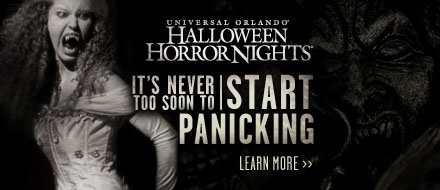 2-Park Bonus Halloween Horror Nights Ticket