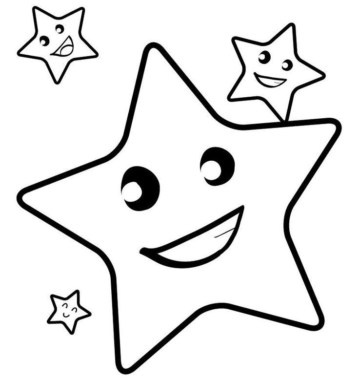 Você já reparou em como as estrelas são simples, e ao mesmo tempo encantadoras? Nós preparamos este post com Desenhos para Colorir de Estrelas. Confira: