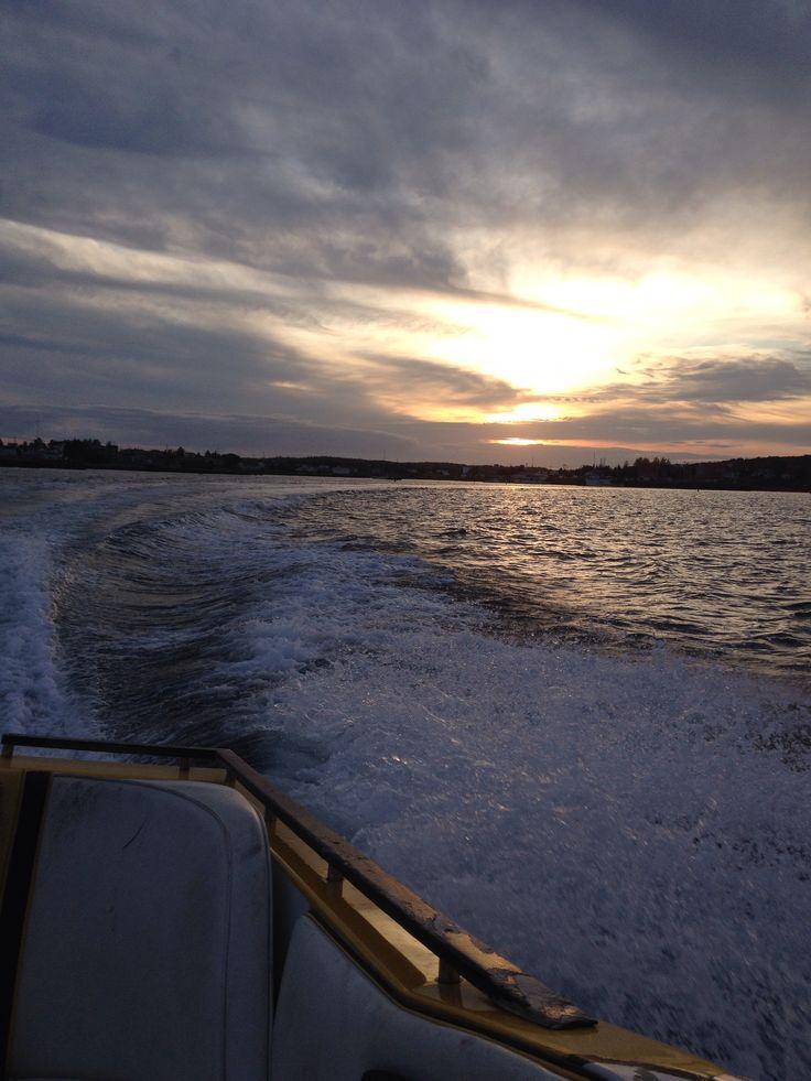 Boating in Sambro, NS
