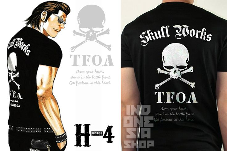 H4-T-Shirt-Crows-Zero-The-Front-Of-Armament