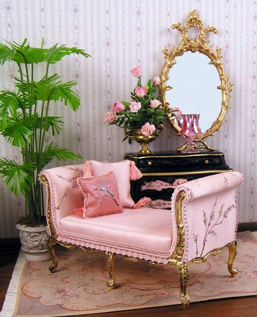 801 best furniture dollhouse images on Pinterest | Dollhouses ...