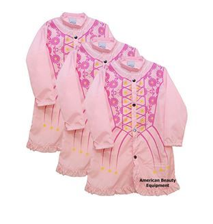 Picture of Princess Cape 3 Pack For Cutting Kids Hair in Hair Salons