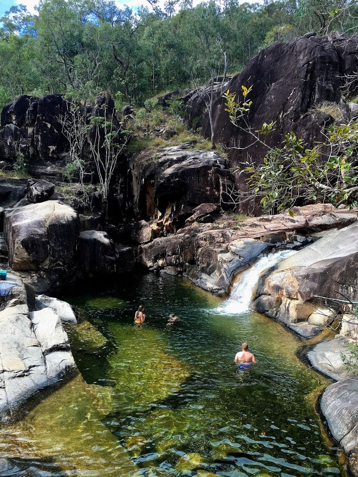 Natural rockslides, waterfalls, cliff jumping and crystal clear waterholes make up the beautiful Paluma Range National Park in Tropical North Queensland.