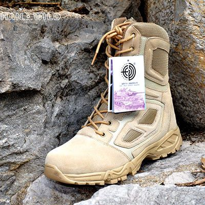 Tactical Boots Lightweight Outdoor Shoes Military Waterproof Breathable Wearable Boots Hiking EUR size 39-45 Desert Combat Boots