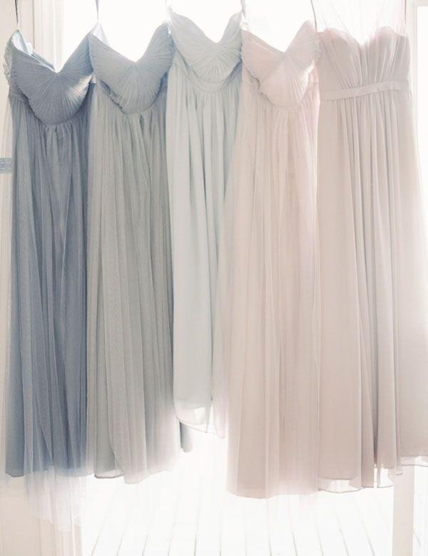 Fashion Sweetheart Chiffon Long Bridesmaid Dress