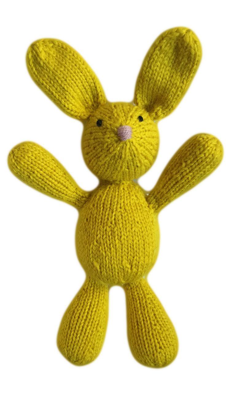 VirkotieNEON Yellow 100% Wool Bunny HANDMADE IN AUSTRALIA exclusively for VirkotieBRAND www.virkotie.com
