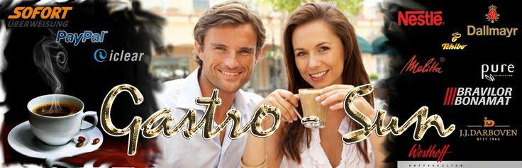 Kaffee Shop Gastro-Sun.de Kaffeegroßhandel, Becher bedrucken Kaffeebecher, Pappbecher in Top Qualität.