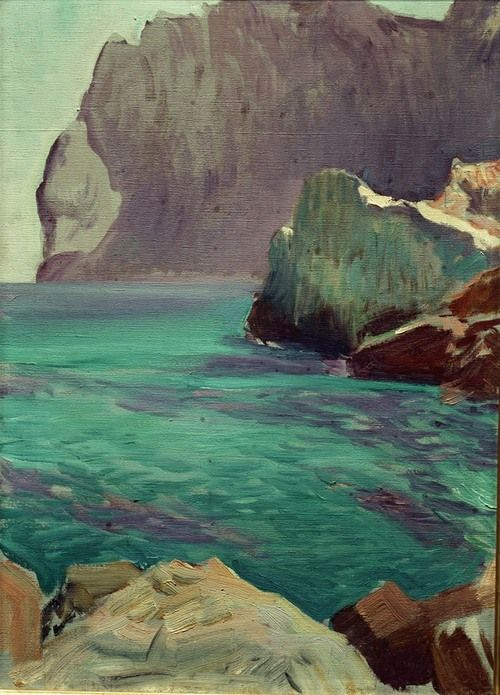 "Joaquin Sorolla ""The Coasts of [Somewhere]"""