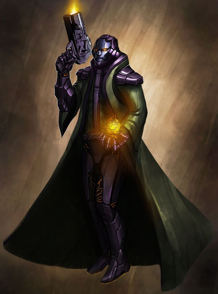 Kang The Conqueror Concept by funnyberserker