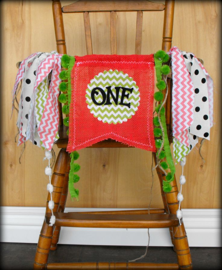 Watermelon Birthday Banner/First birthday/Cake Table/High Chair Banner/Bunting/Smash Cake/Watermelon Cake/Vintage/Backdrop by PrettyLittleClippie on Etsy https://www.etsy.com/listing/196788549/watermelon-birthday-bannerfirst