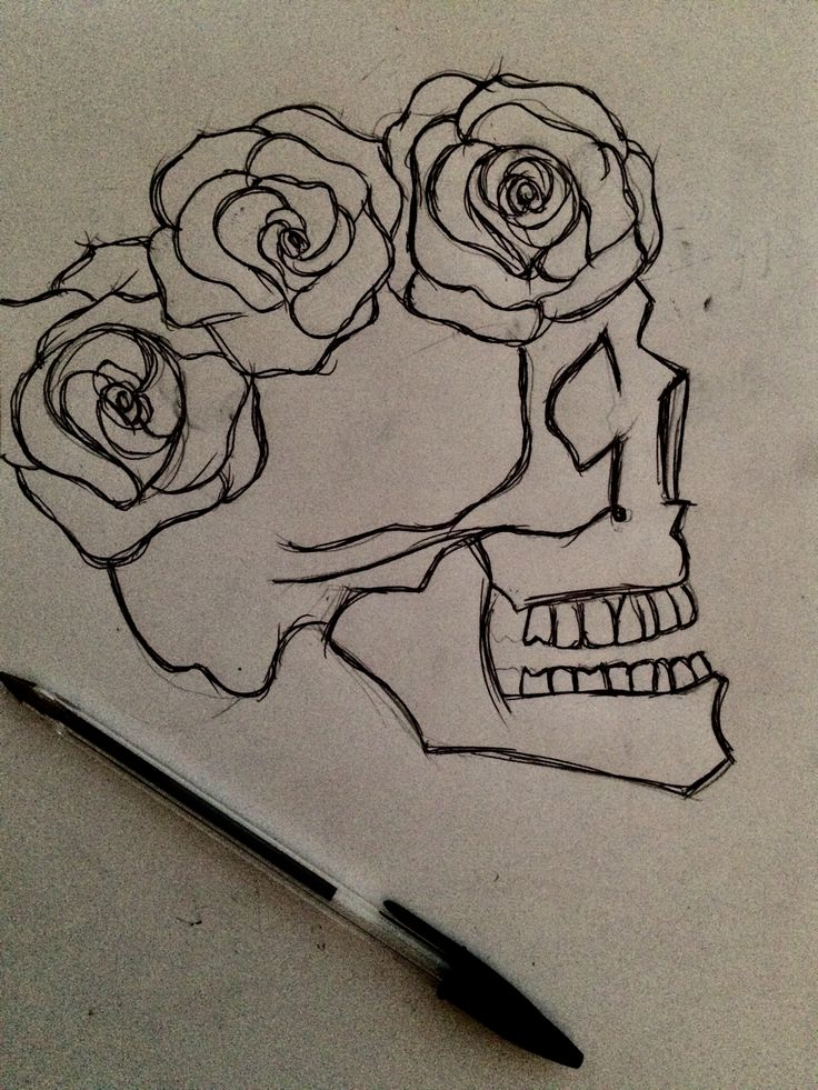 instead of roses butterflies and it could be a single line drawing