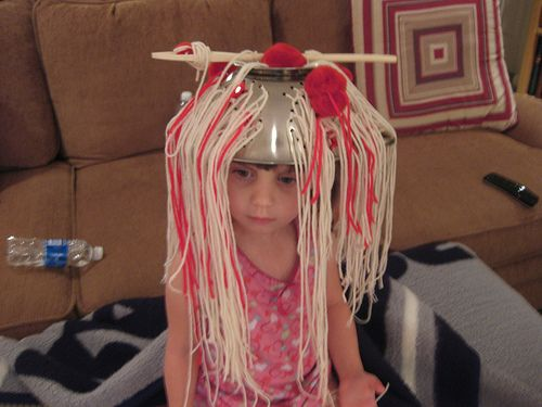 Looking through pinterest and see this. It's MY kid!! We made this hat for her Pre school crazy hat day! crazy hat day ideas for kids