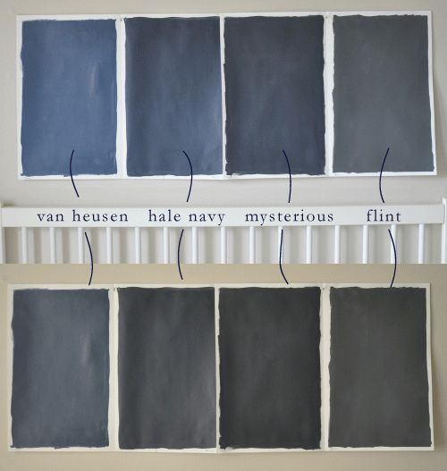 Wordless Wednesday Inspiration Benjamin Moore Blues