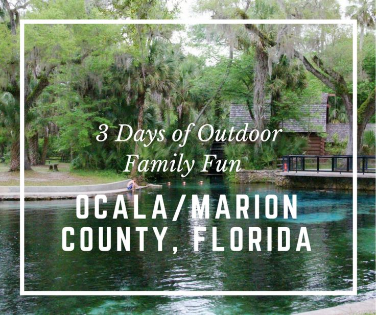 Are you ready for outdoor fun in Ocala & Marion County, Florida? Here is a fun filled itinerary for you and your family to enjoy filled with things to do.