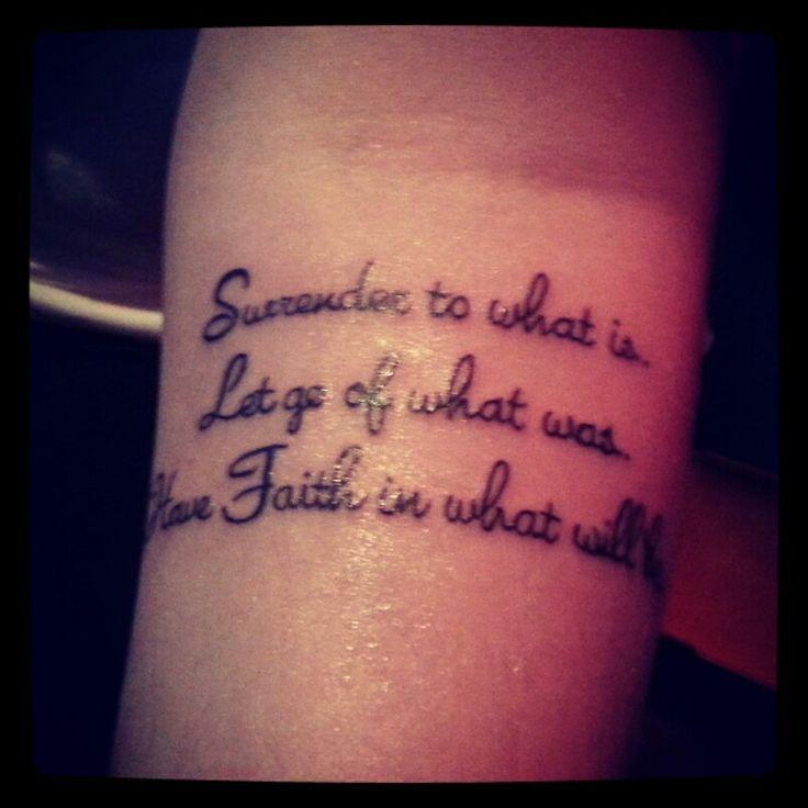 Best 25+ Have Faith Tattoo Ideas On Pinterest