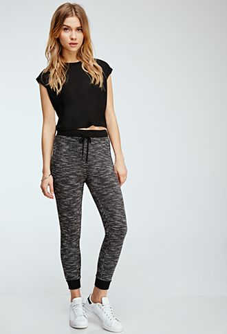 Two-Tone Sweatpants | FOREVER21 - 2000098607