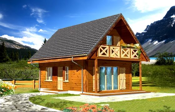 Wooden houses SOSENKA