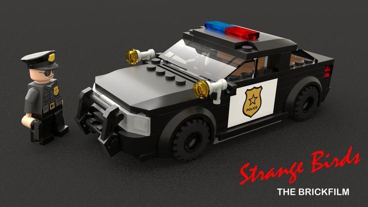Lego Police Car In 2020 Lego Polizei Lego Fahrzeuge Lego Armee