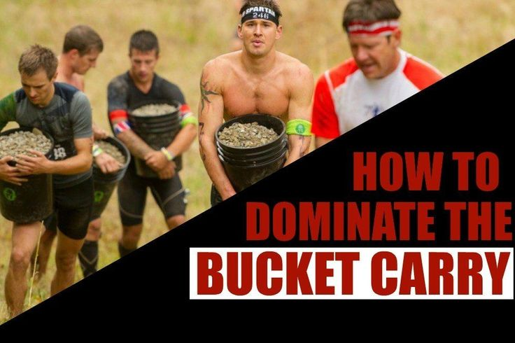 The Spartan Race bucket carry is the ultimate full-body 'no mercy' obstacle, sending you 300 yards (or more) with a 50 pound bucket packed with forearm busting, shoulder tightening and lung burning movement. See how you can dominate the Spartan bucket carry with these never done before workouts.