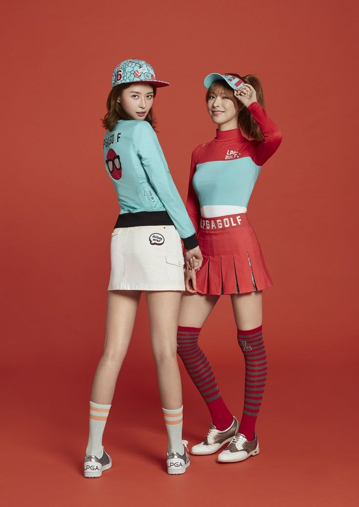 Nara and Alice - 'LPGA Gallery' Golf Wear