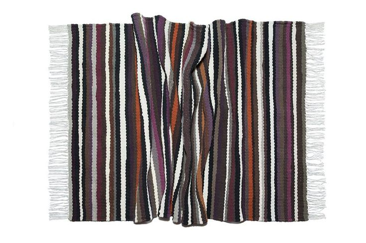 "Sometimes even unexpected colours can be combined) Woven rug ""Combination"" hand made on loom. Nature inspires #babynakrasunia #woven #wovencarpet #rugs #carpet #natureencourages #colors #stripes #stylishcarpet #ecofriendlyfashion #handmade #бабинакрасуня #тканадоріжка #ткацтво #килим #доріжка #природанадихає #кольори #смужка #стильнийкилим"