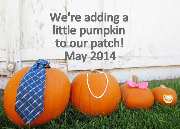 Picture of Fall Pumpkin Pregnancy Announcement