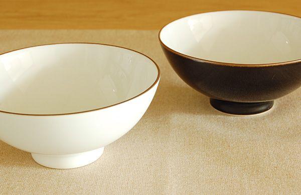 白山陶器 ベーシック お茶碗 白マット | monsen