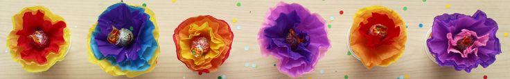 Flores de chupetines