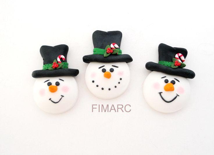 Snowman - brosa